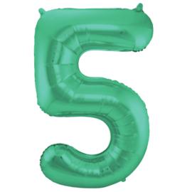 Cijfer Mat Green- 5