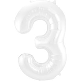 Cijfer Wit- 3