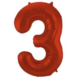 Cijfer Rood- 3