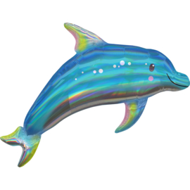 Folie- Dolfijn holographic