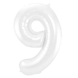 Cijfer Wit- 9
