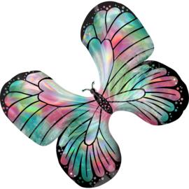 Folie- Vlinder holographic