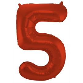 Cijfer Rood- 5
