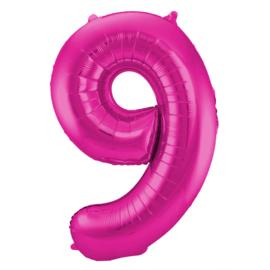 Cijfer Roze- 9