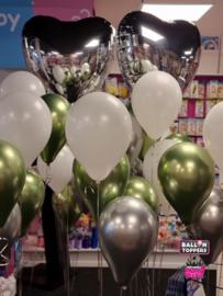 Heliumtros 5- met foliehart