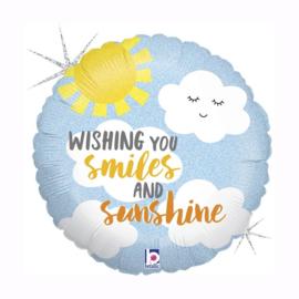 Folieballon- Wishing you...