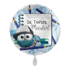 Folieballon- Tofste meester