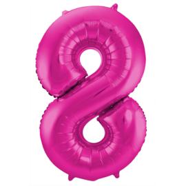 Cijfer Roze- 8