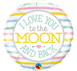 Liefde- Love you to the Moon