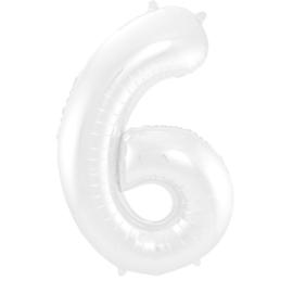 Cijfer Wit- 6