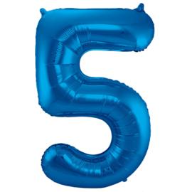 Cijfer Blauw- 5