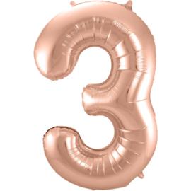 Cijfer Rosé Goud- 3