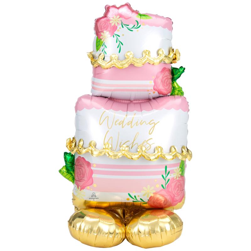 Airloonz- Wedding Cake