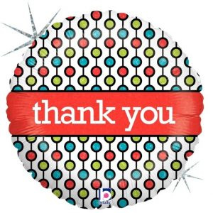 Folieballon- Thank you!