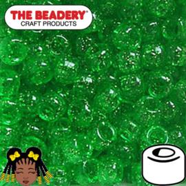 Pony Beads 9x6mm Groen (331)