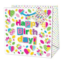 Happy Birthday Tas  14,5x15cm