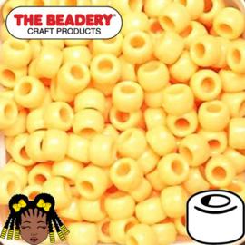 Pony Beads 9x6mm Zand (226)