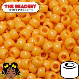 Pony Beads 9x6mm Mosterd (496)