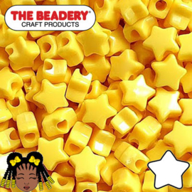 Pony Beads Ster 11mm (074)