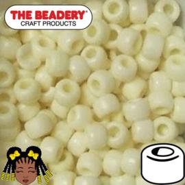 Pony Beads 9x6mm Vanille (494M)