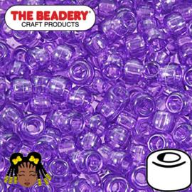 Pony Beads 9x6mm Amethist (001)
