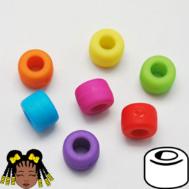 Pony Beads 8x6mm