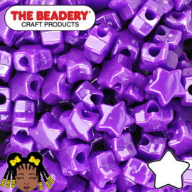 Pony Beads Ster 11mm (106)