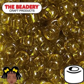 Pony Beads 9x6mm Avocado (004)