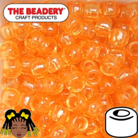 Pony Beads 9x6mm Oranje (014)