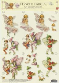 3D Knipvel Flower Fairies