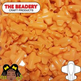Pony Beads Vliegtuig Oranje (070)