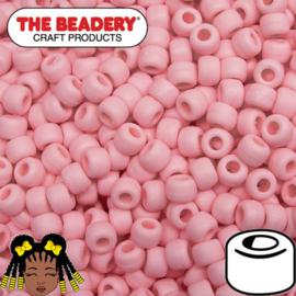 Pony Beads 9x6mm BabyRoze (064M)