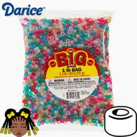 Pony Beads Mix Glitter