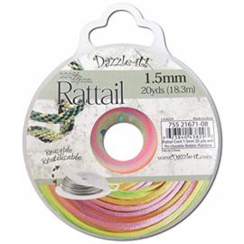 Rattail  Ø1,5mm Regenboog