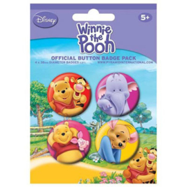 Winnie The Pooh Buttons