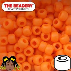Pony Beads 9x6mm Oranje (070M)