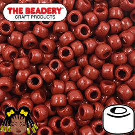 Pony Beads 9x6mm Roest (099)