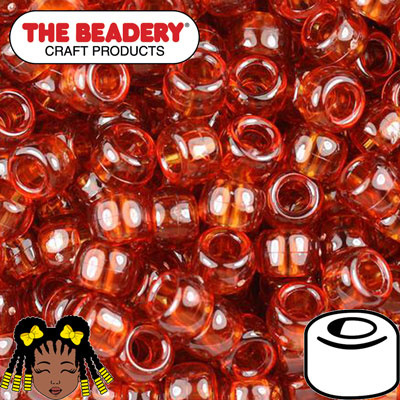 Pony Beads 9x6mm Schildpad (025)