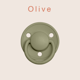 BIBS deluxe silicone OS - Olive