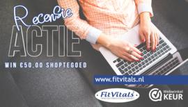 Fitvitals Recensie Actie! Maak kans op een giftcard t.w.v. 50 euro.