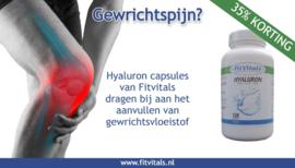 In april ruim 35% korting op Hyaluron Capsules