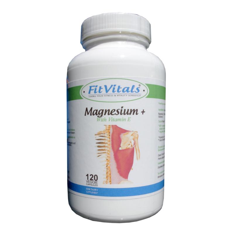 Magnesium+ Capsules met Vitamine E
