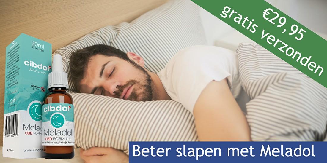 Nieuw bij Fitvitals: Meladol, voor een betere slaapcyclus