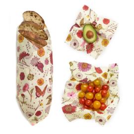 Herbruikbare Vegan Food Wrap Set S/M/L