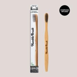 Bamboe tandenborstel charcoal