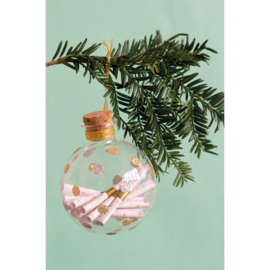 Milestone Baby Ornament