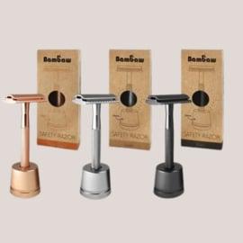 Metalen Safety Razor met Standaard
