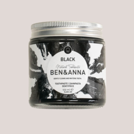Tandpasta black - charcoal voor witte tanden