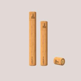Bamboe tandenborstel koker