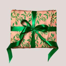 Herbruikbaar inpak papier Miss Mistletoe (Size M)